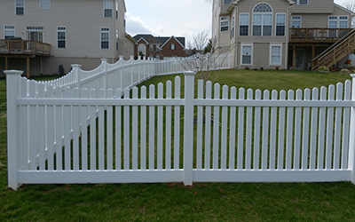 Northern Virginia Composite Vinyl Fences